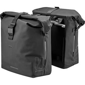 Basil SoHo Double Pannier Bag Nordlicht MIK 41l, black